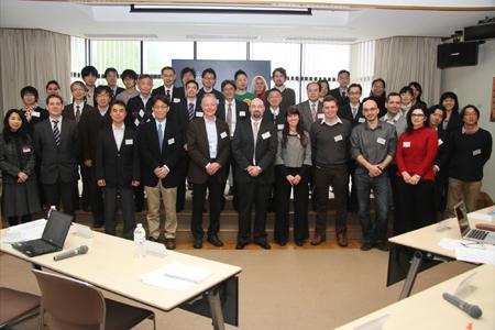 Neural Epigenetics Workshop attendees, British Embassy, Tokyo