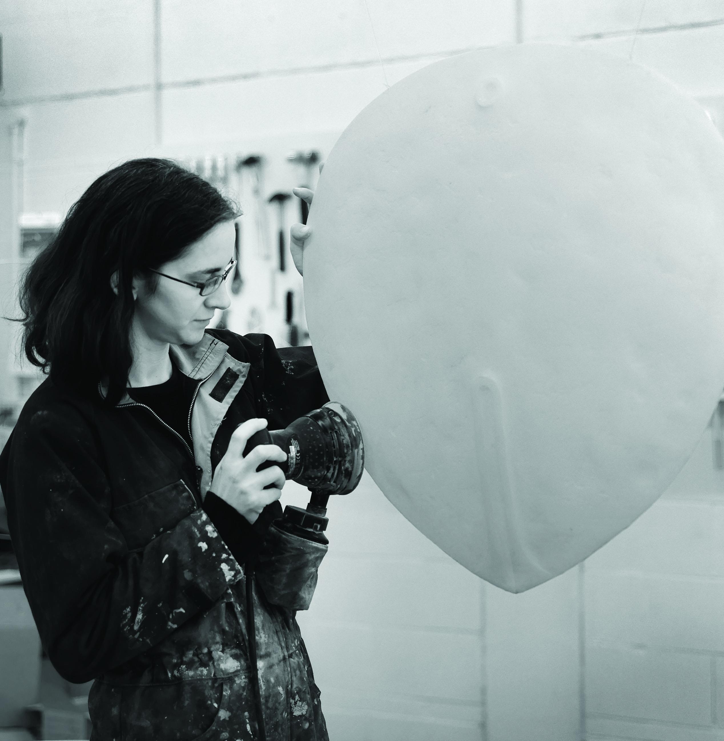 Sculptor Briony Marshall