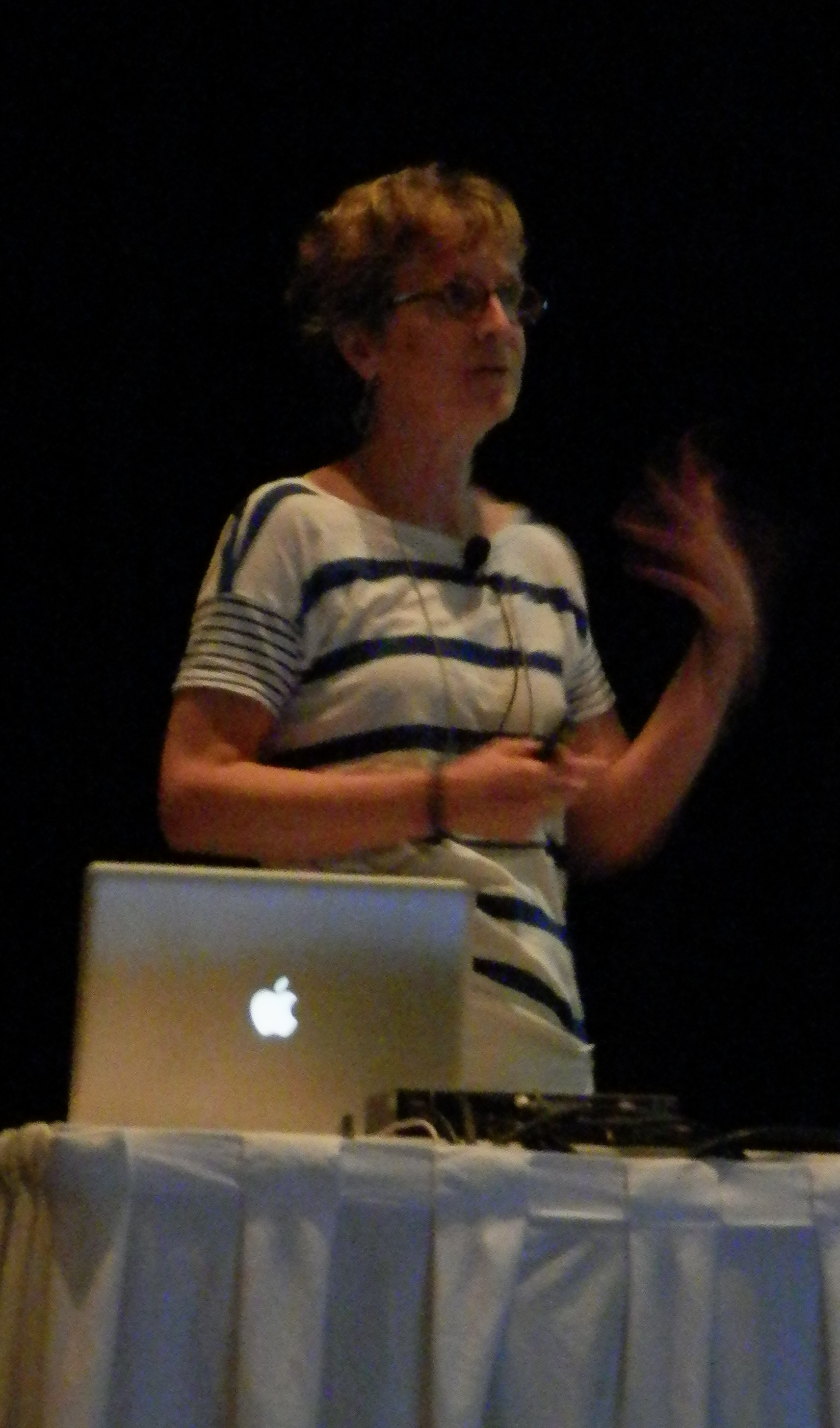 Janet Rossant's talk cropped