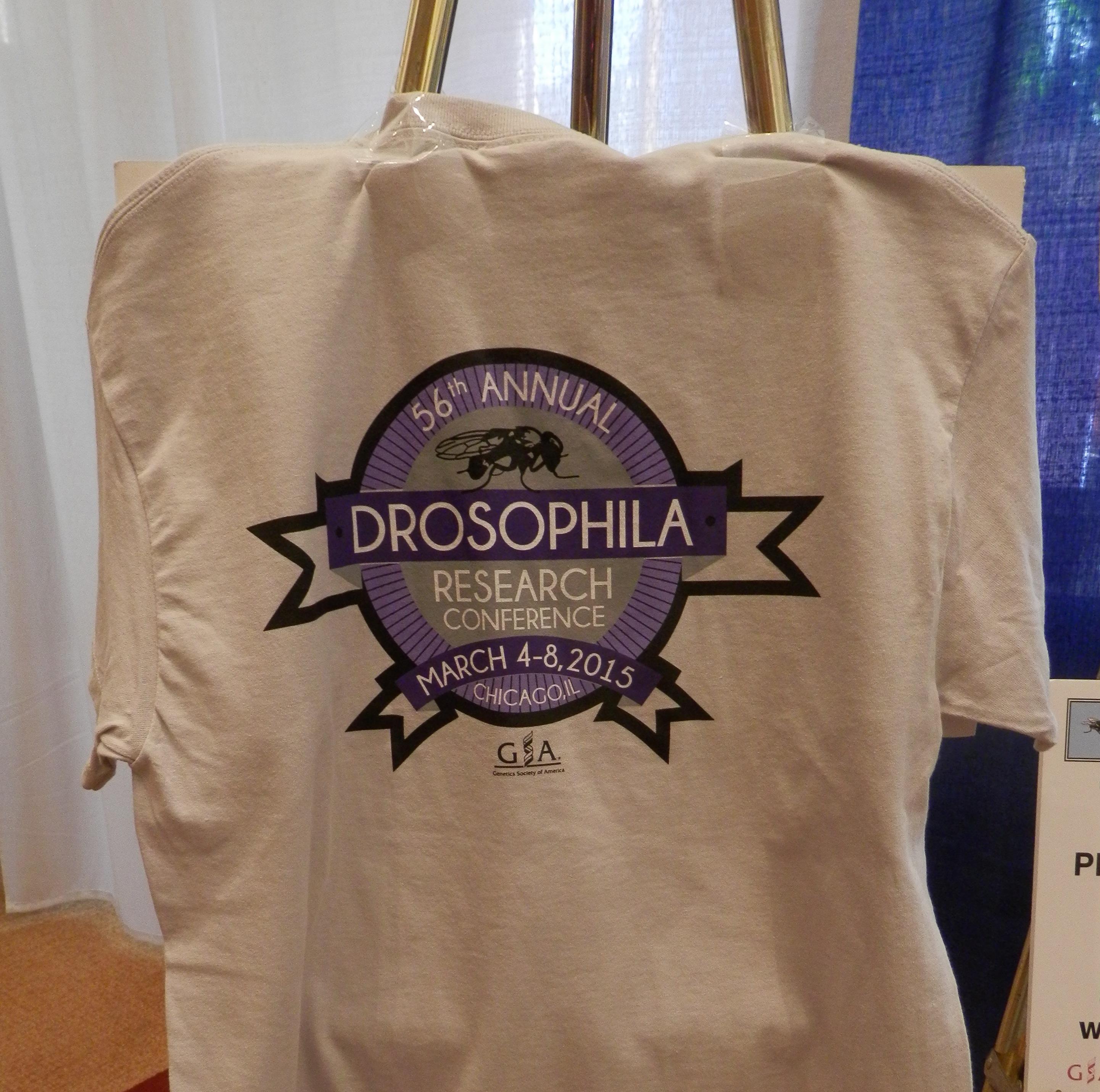 drosophila t-shirt