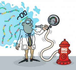 Scientist 'drinking from the firehose' of big data