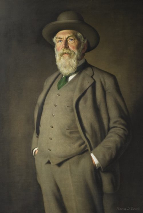D'Arcy Thompson by David S Ewart (University of Dundee Museum Services)