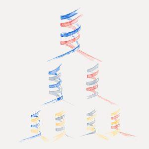 Illustration of DNA replication