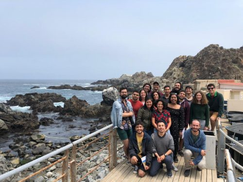 Students at The MBL Practical Course in Developmental Biology in Quintay in 2020.